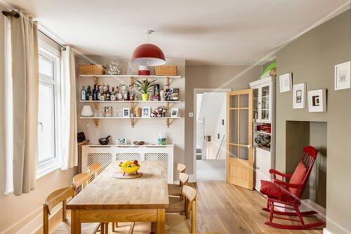 Peter ist Architekt und hat ein altes Londoner Haus für seine Familie moderniesiert