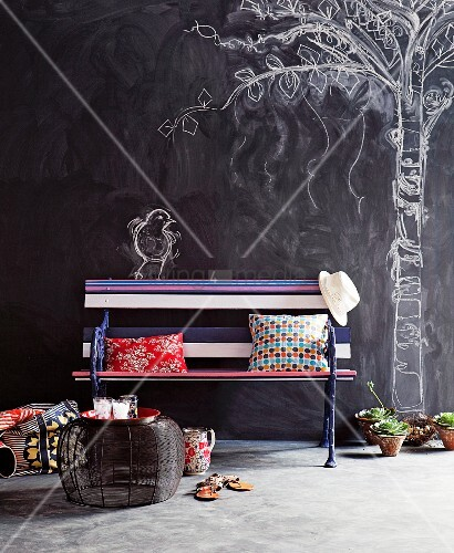 Wand Gestalten Mit Fotos