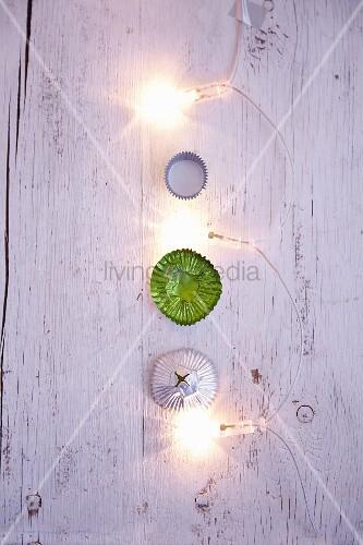 Eiskonfekt-Förmchen & Lichterkette