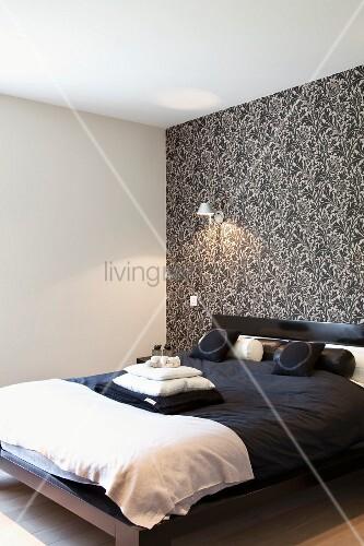 schlafzimmer schwarz weiß tapeten ~ Übersicht traum schlafzimmer - Barock Tapete Schwarz Schlafzimmer