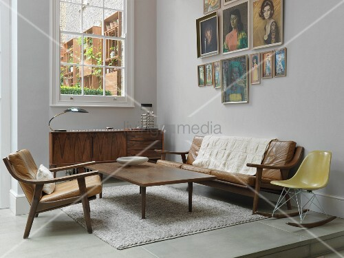 Living Room With 50s Furniture