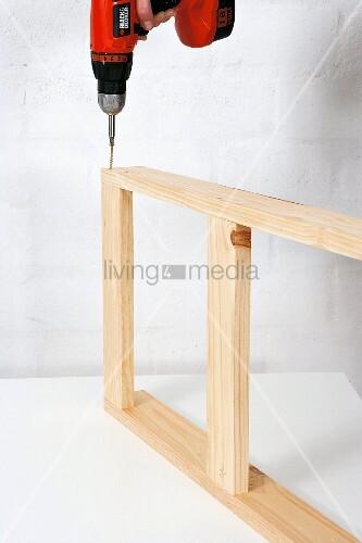 klappbaren holztisch selber bauen einzelteile. Black Bedroom Furniture Sets. Home Design Ideas
