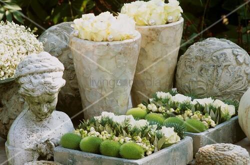 Herbstliche gartendeko bild kaufen living4media for Gartendeko bestellen