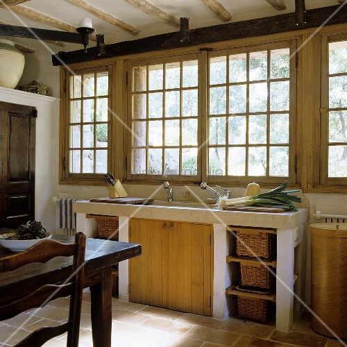 Gemauerte Küchenzeile mit genial stil für ihr wohnideen