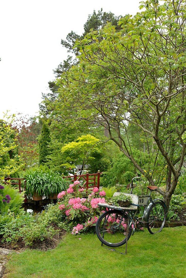 Gartenoase