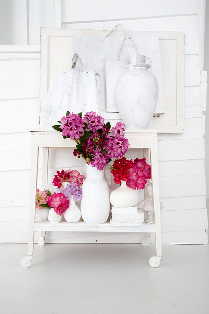 Decorate with Rhododendrons