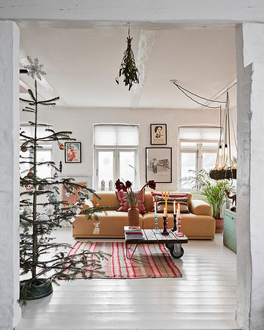 Bunte Boho-Weihnacht