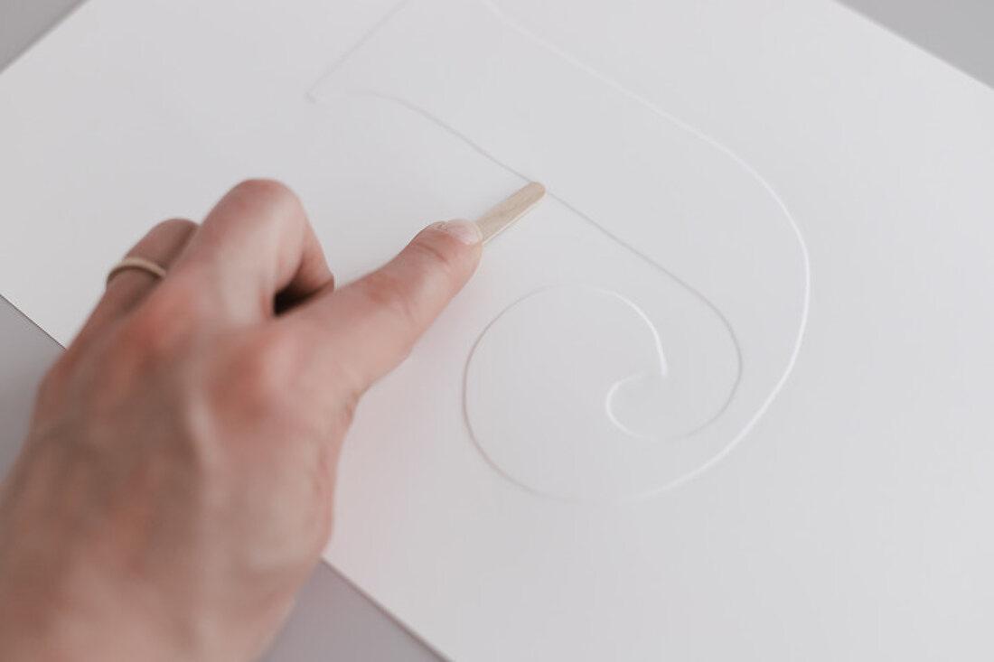 Einprägsame Papierkunst