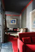 Orient Rot-Grau