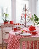 Weihnacht Rot-Weiß