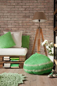 Green, gorgeous and Crocheted