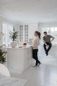 Weiß an Weihnachten