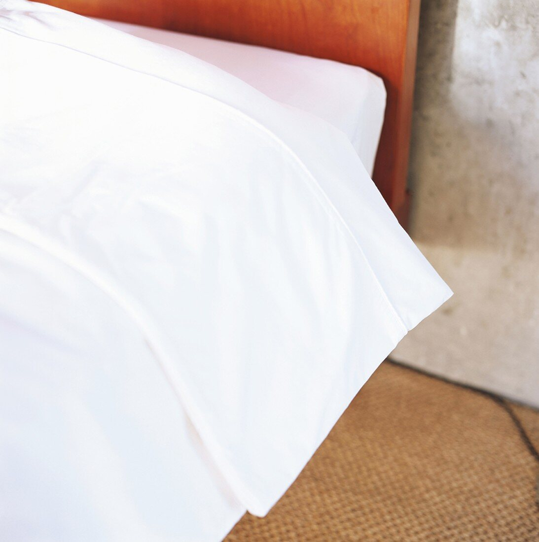 Detail of bed linen
