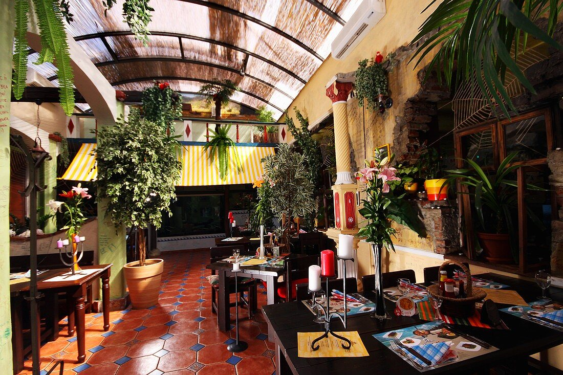 A Cuban restaurant Havana in Brno, Czech Republic