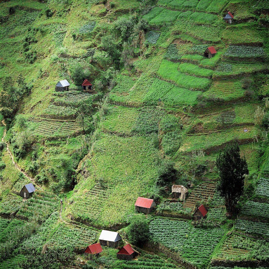 Mountain village on Madeira