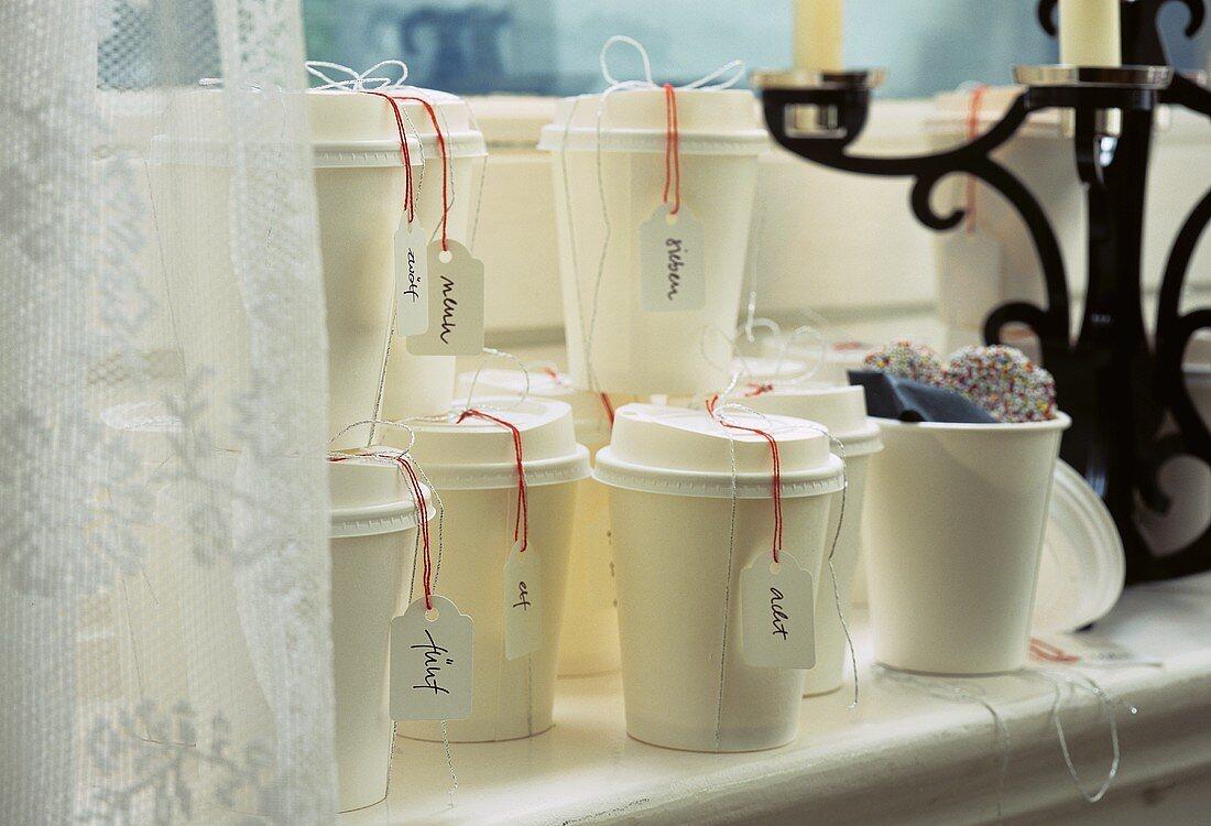 Kaffeebecher Adventskalender