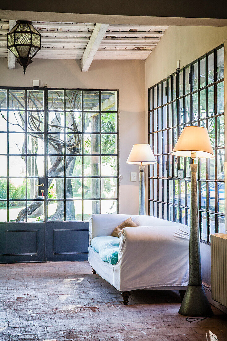 Home interior, living room
