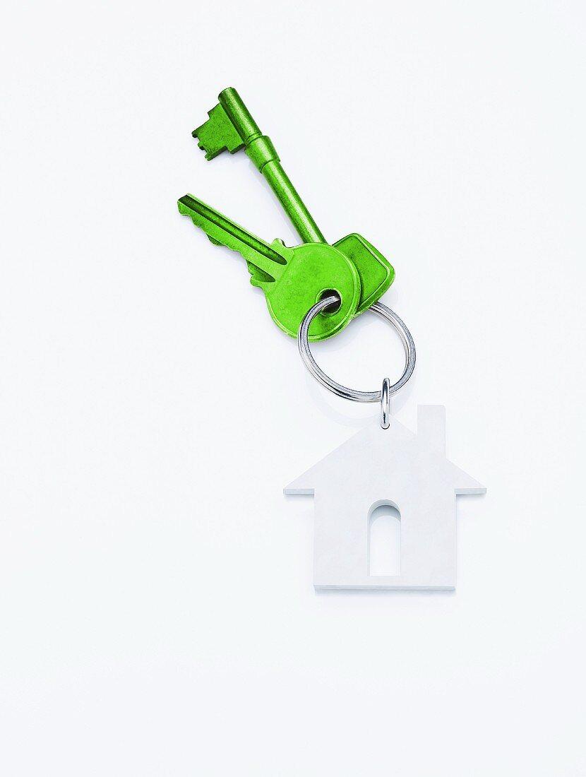 Green house keys