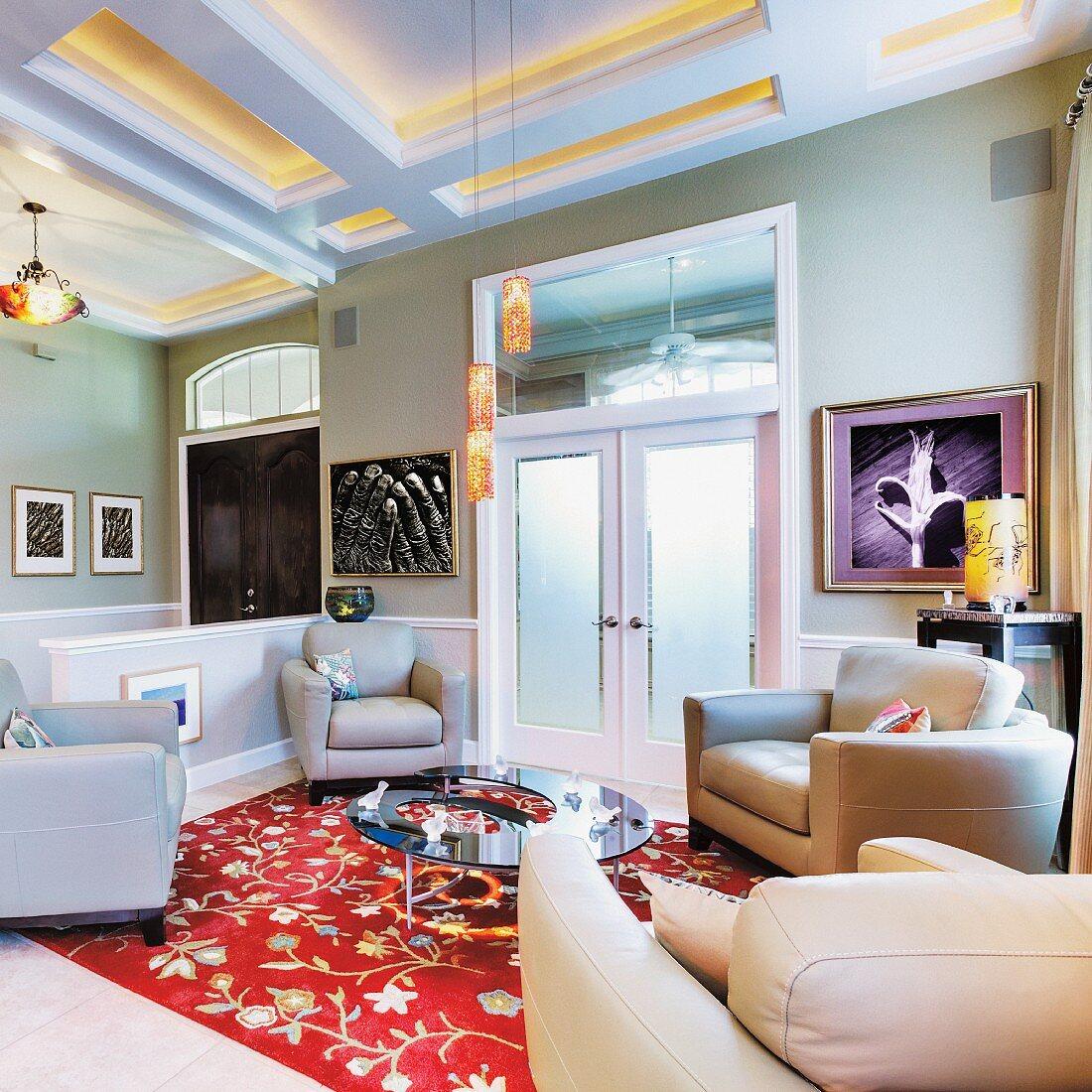 Luxury Sitting Room