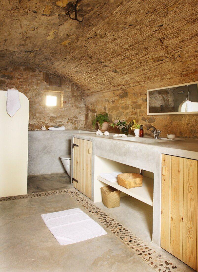 Naturstein Badezimmer mit … – Bild kaufen – 20 ❘ living20media