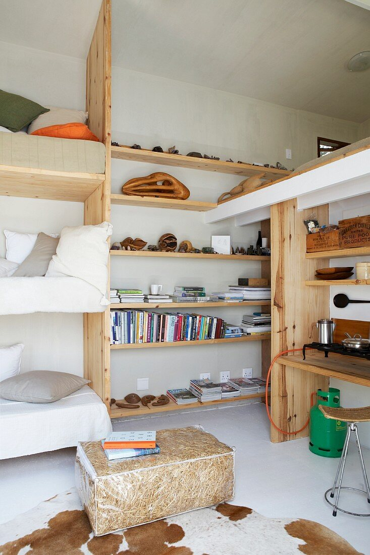 Picture of: Space Saving Bunk Beds Next To Diy Buy Image 11187282 Living4media