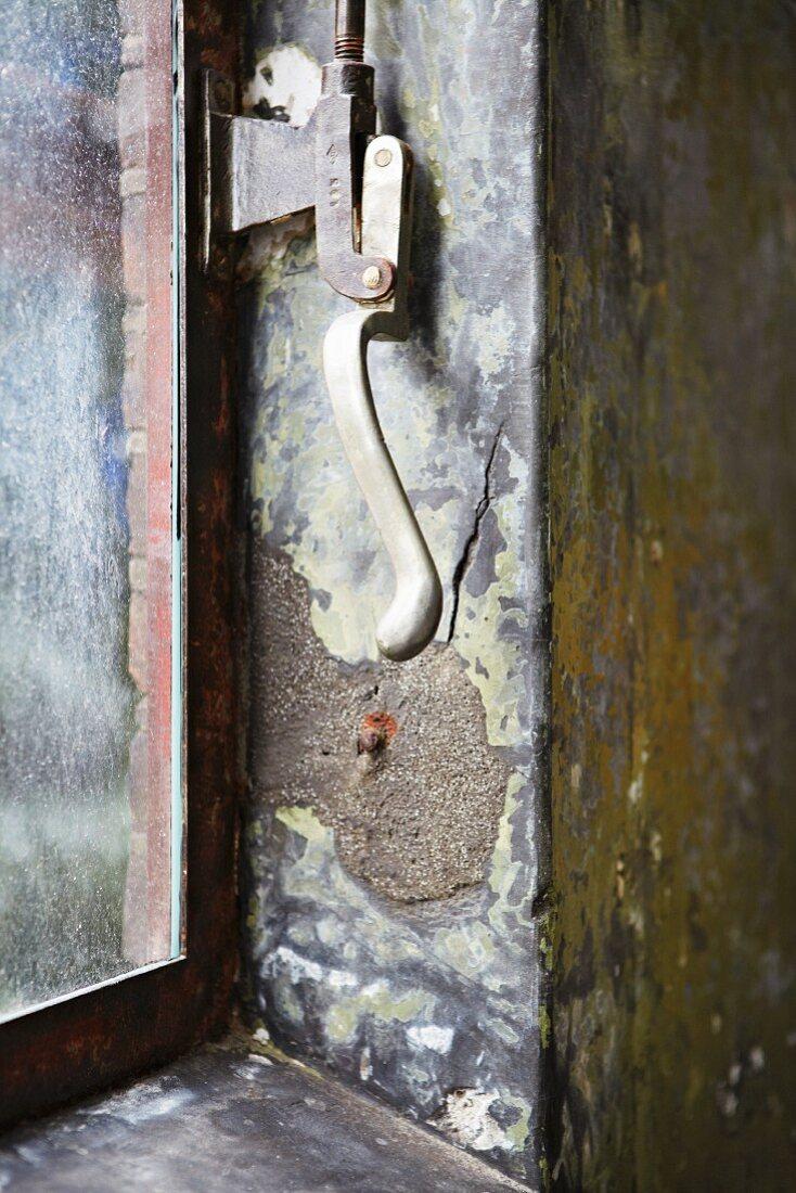 Öffnungsmechanismus eine Fensters