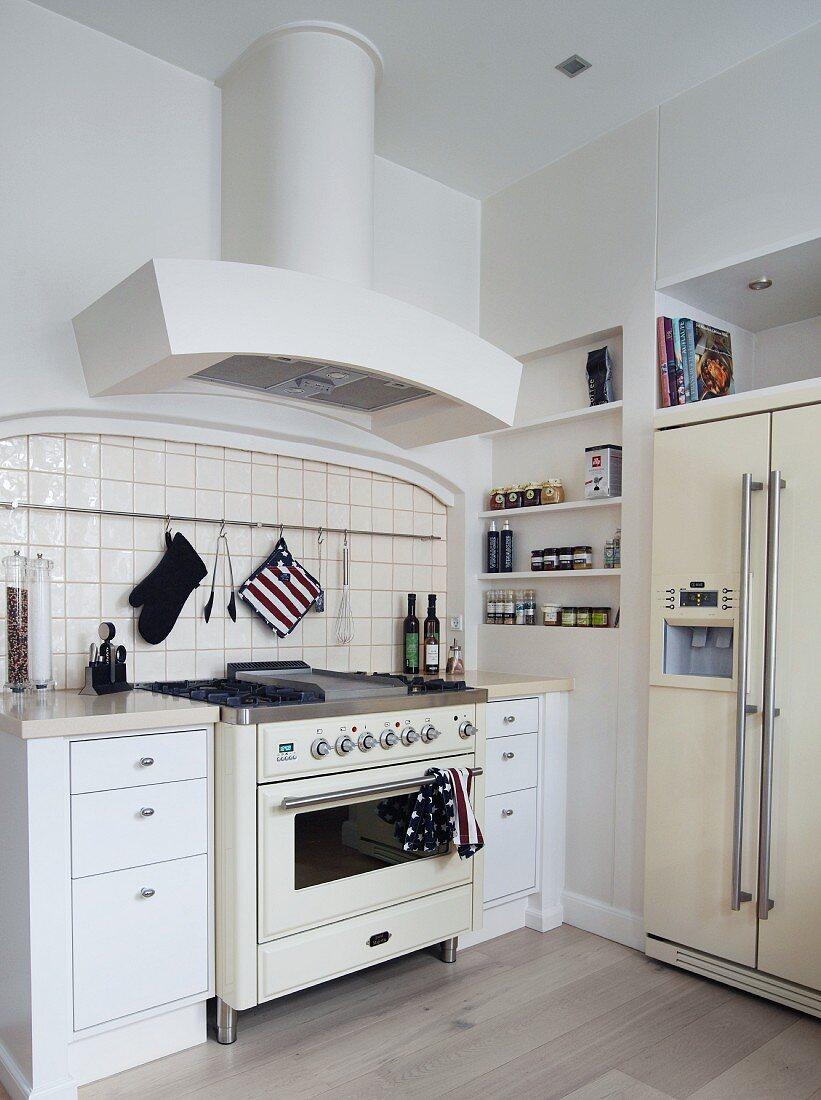 Vintage Kitchen Cooker Flanked By Buy Image 11282906 Living4media