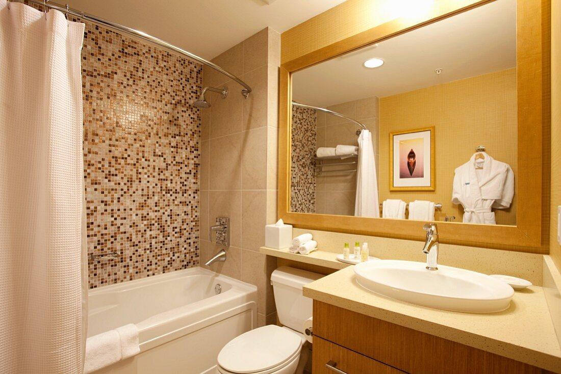 Bathroom Interior in the Watermark Beach Resort in Osoyoos Bristish Columbia