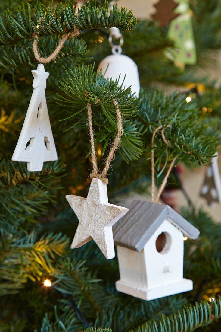 White Painted Wooden Christmas Buy Image 11447122 Living4media