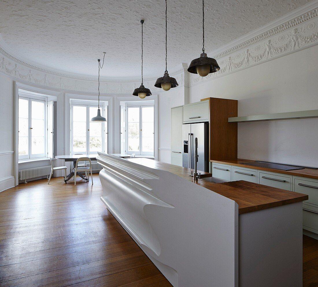 Minimalistische Moderne Kuche Mit Bild Kaufen 11506974 Living4media