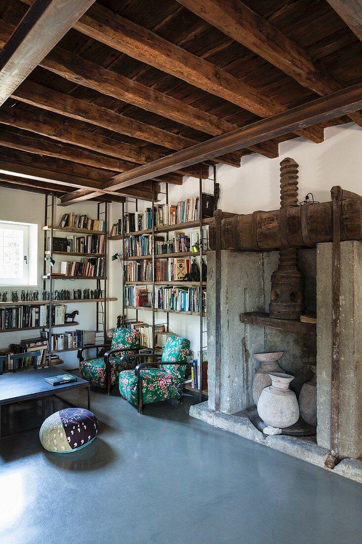 Image of: Reading Corner In Historical Interior Buy Image 11408998 Living4media