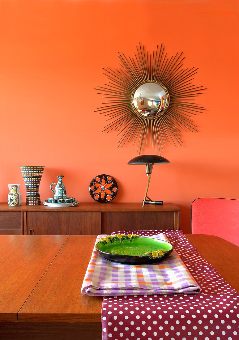 View Across Dining Table To Sideboard Buy Image 12471430 Living4media