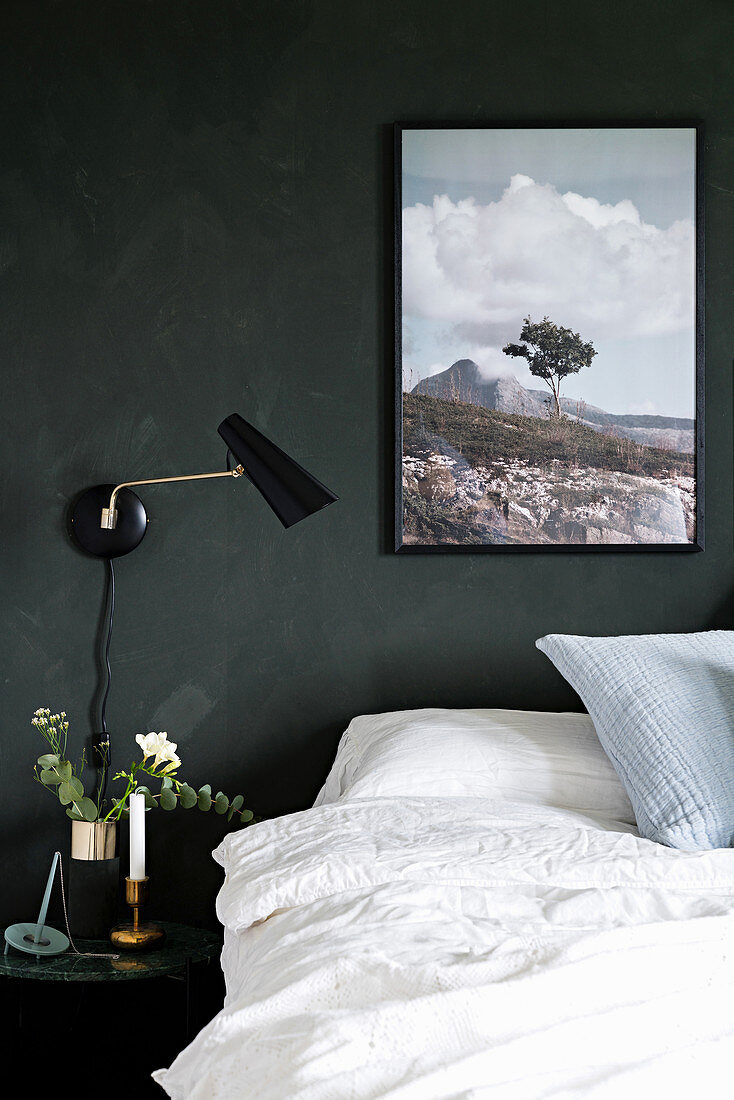 Double Bed Side Table Wall Mounted Buy Image 12577426 Living4media