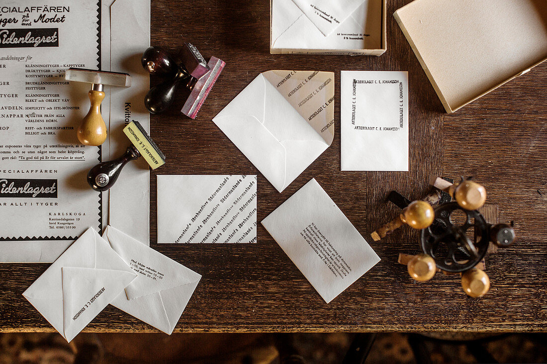 Various stamps and stamped envelopes