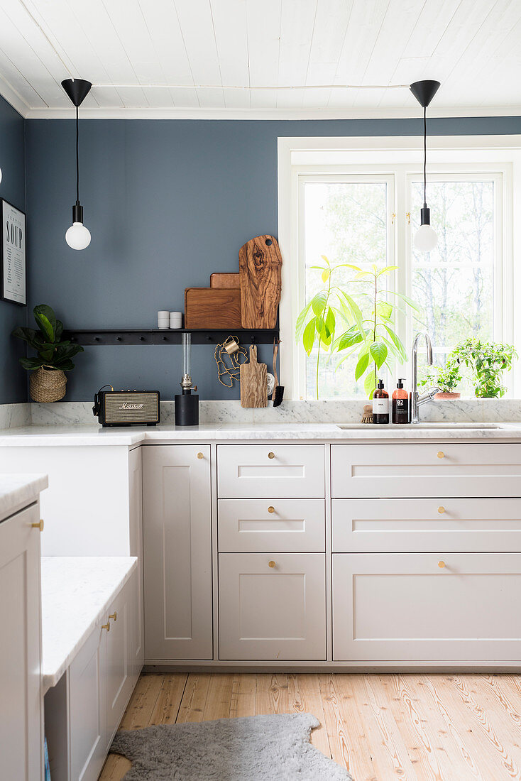 White Kitchen Counter With Marble Buy Image 12622324 Living4media
