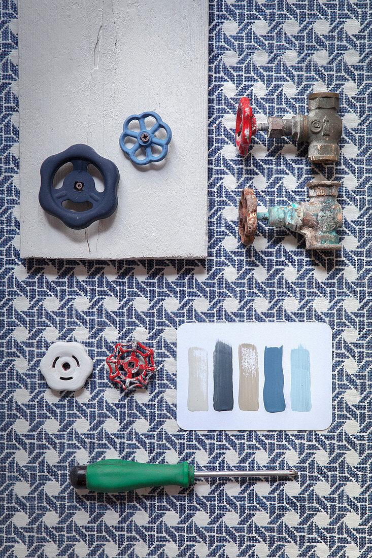 Craft utensils for making coat rack