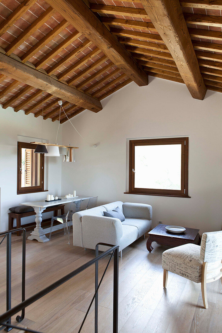 Wohnzimmer Im Landhausstil Mit Bild Kaufen 12980206 Living4media