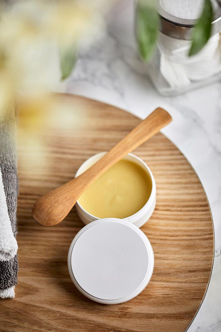 Natural handmade calendula cream