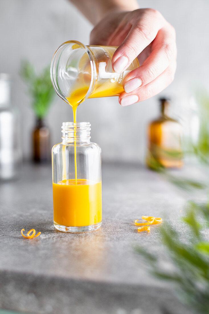 Invigorating vitamin C serum