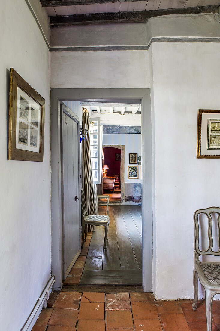 Door in hallway