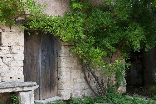 Idyllic stone house with garden