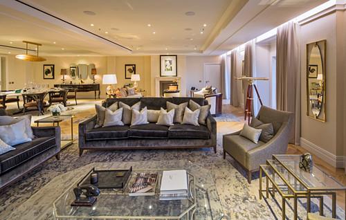 Elegant lounge, Ten Trinity Square, London