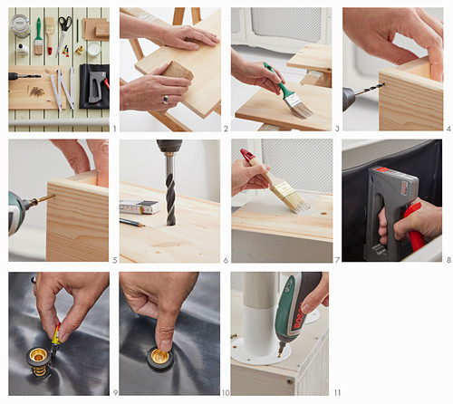 Instructions for making a planter