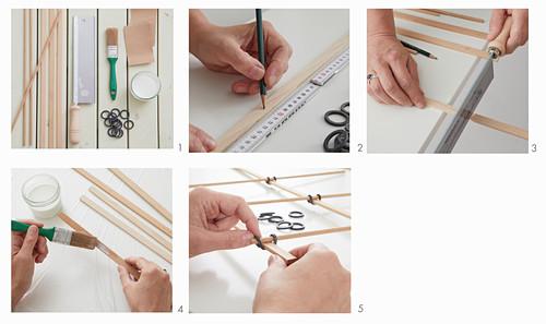 Instructions for making trellis
