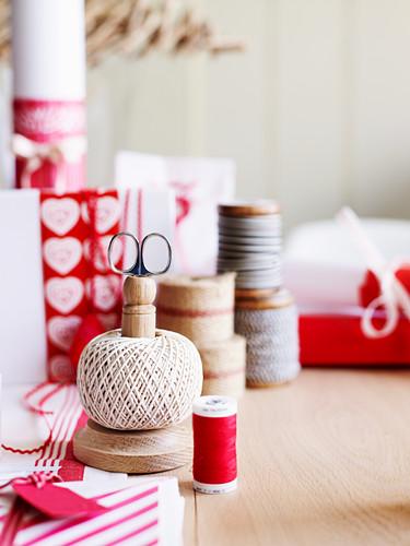 Christmas craft utensils