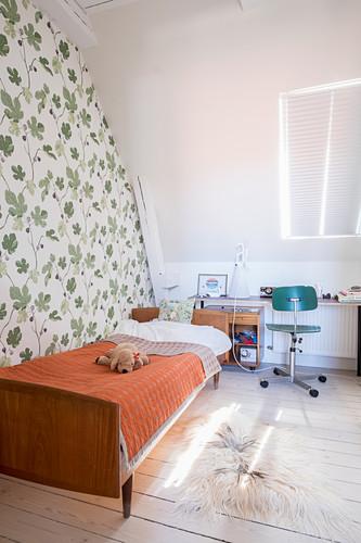 Retro Style Ager S Attic Bedroom