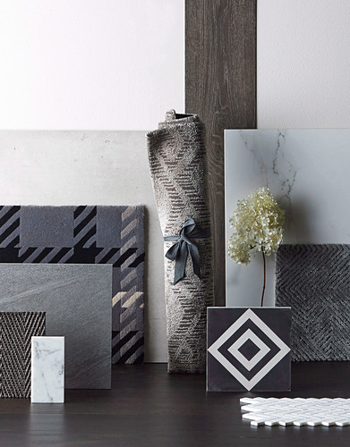 Different shades of gray