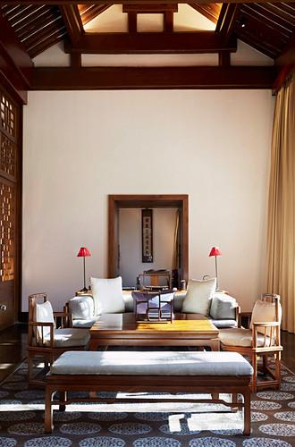 Hotelzimmer im Amanyangyun Resort (Shanghai)