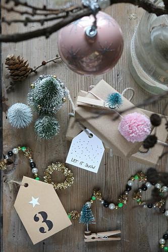 Bergpalme Nikolausgeschenk Geschenkidee für Weihnachten zu Nikolaus Advent Deko
