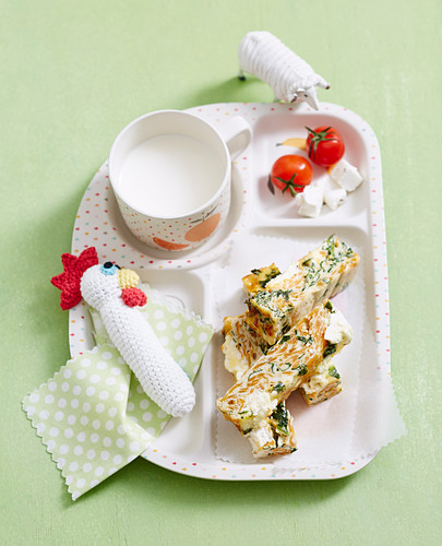 Superfoods For Babies and Toddlers - Toddlers - Breakfast - Kumara and Kale Frittata
